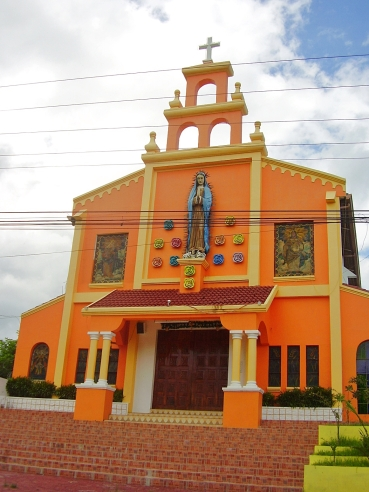 An Aglipayan Church (offshoot of Catholic church where priests can marry)